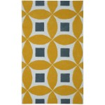 Henley Hand-Tufted Gold/Gray 5' x 8' Rug