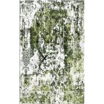 Dingley Green / Quill Gray Silken Modern 9x12 Rug