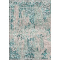 Juniper Blue / Cold Turkey Silken Modern 8x10 Rug