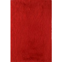 Henley Red 3x5 Solid Rug